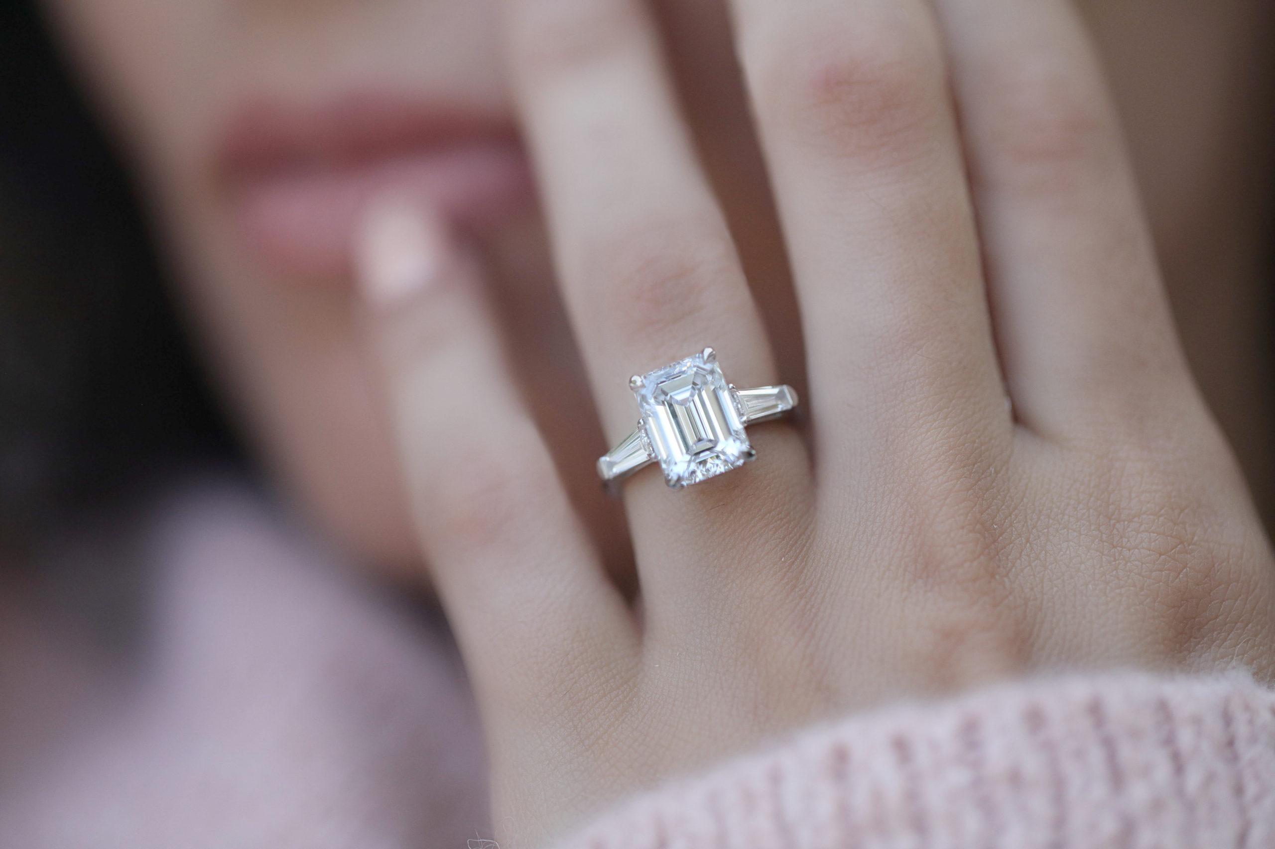 Emerald Cut Engagement Rings From Adiamor Are Timeless - Adiamor Blog