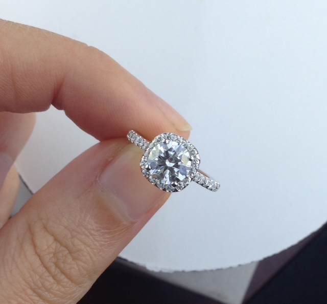 Round Vs Cushion Cut Diamonds Archives Adiamor Blog