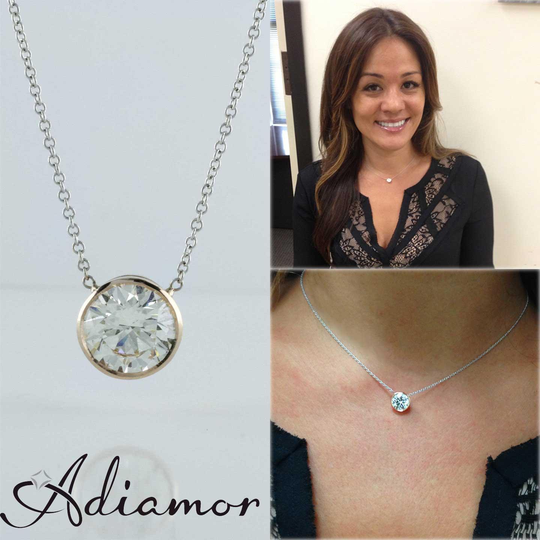 Antique jewelry archives adiamor blog adiamors rose gold diamond bezel pendant aloadofball Images