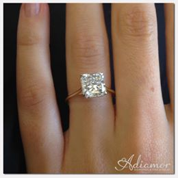Yellow Gold Solitaire Best Solitaire Engagement Rings