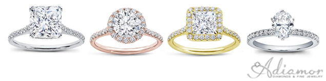 Thin Band Engagement Rings Are Trend Adiamor Blog