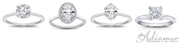 Thin Band Engagement Rings Are On Trend