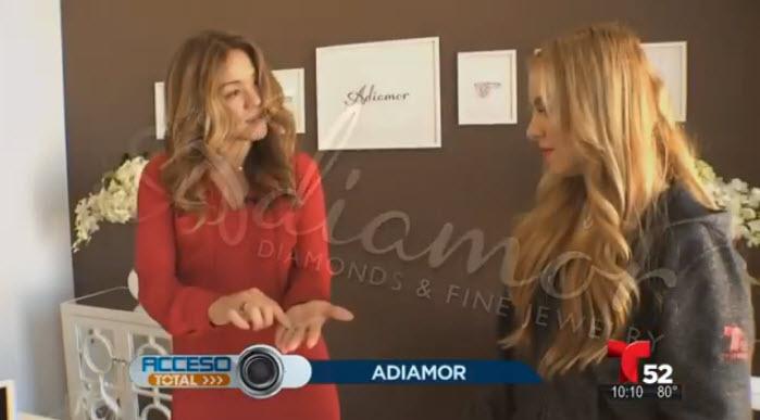 Adiamor Featured on Telemundo Acceso Total