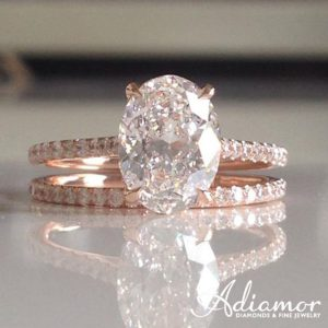 Rose_Gold_Oval_Cut_French_Cut_Basket_Engagement_Ring_Set[1]