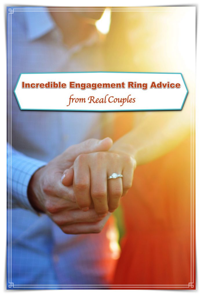 Incredible engagement ring advice from real couples