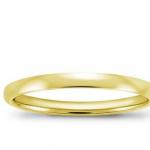yellow gold men's wedding ring