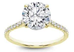 updated solitaire engagement ring