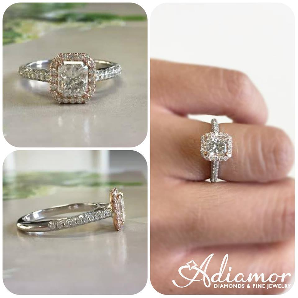 ring rings cttw by rated affinity band diamond qvc product page engagement top round com baguette
