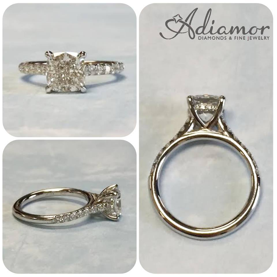 adiamor tag best ring basket archives cushion engagement rings blog french cut halo