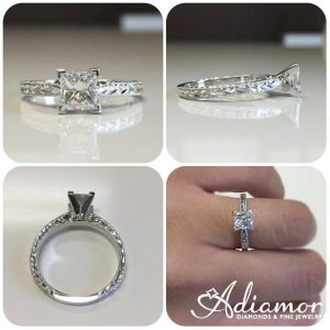best engagement rings solitaire