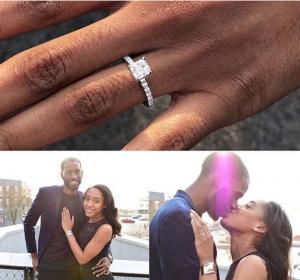 adiamor couple proposal photos